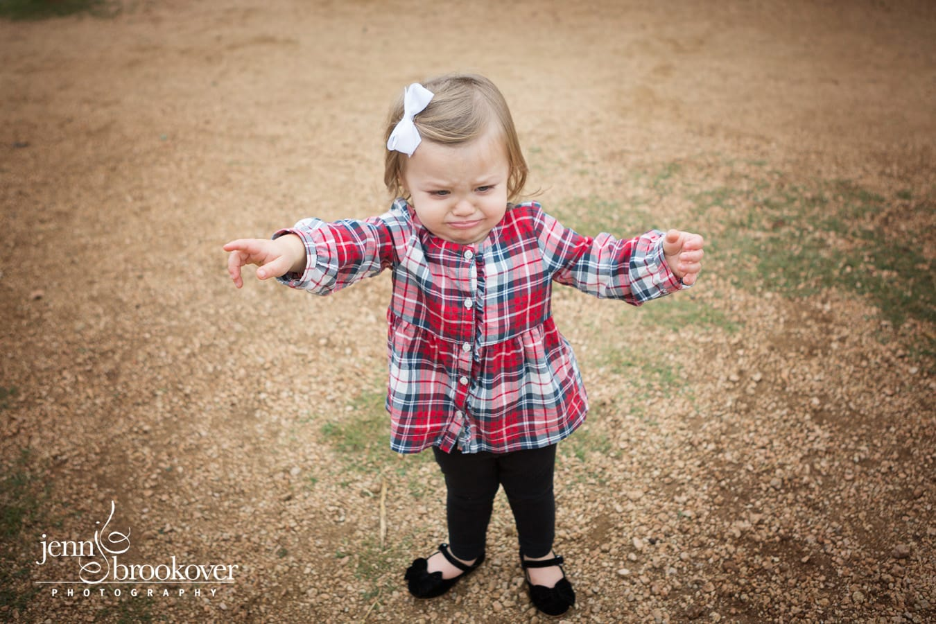two year old at Tejas Rodeo