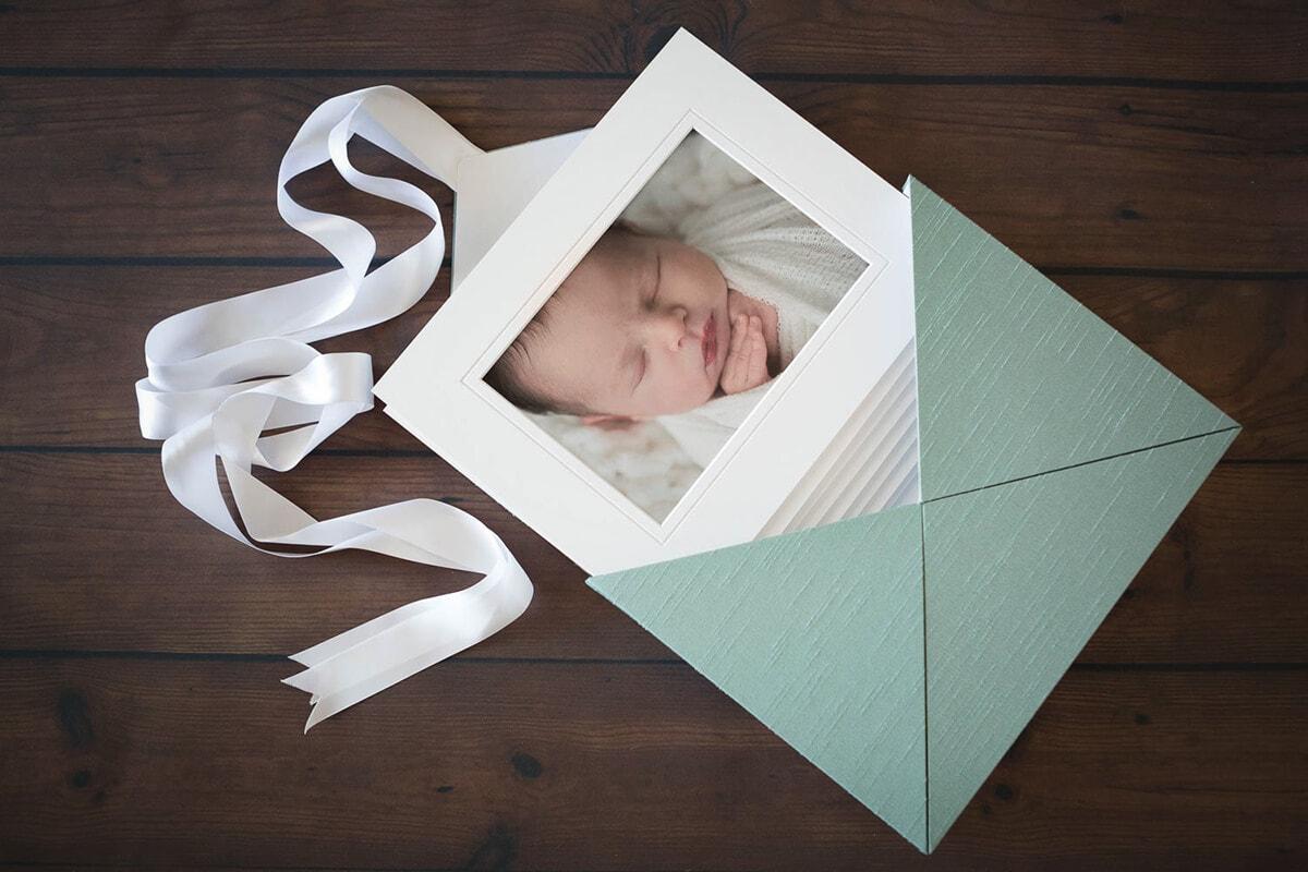 memory box in silk