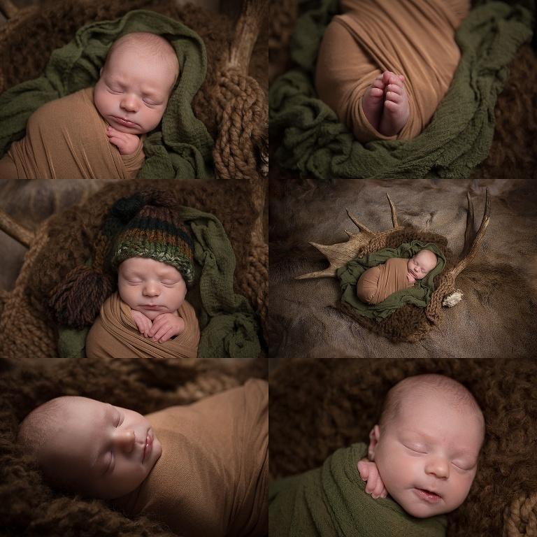 baby boy newborn session at home in San Antonio, Texas