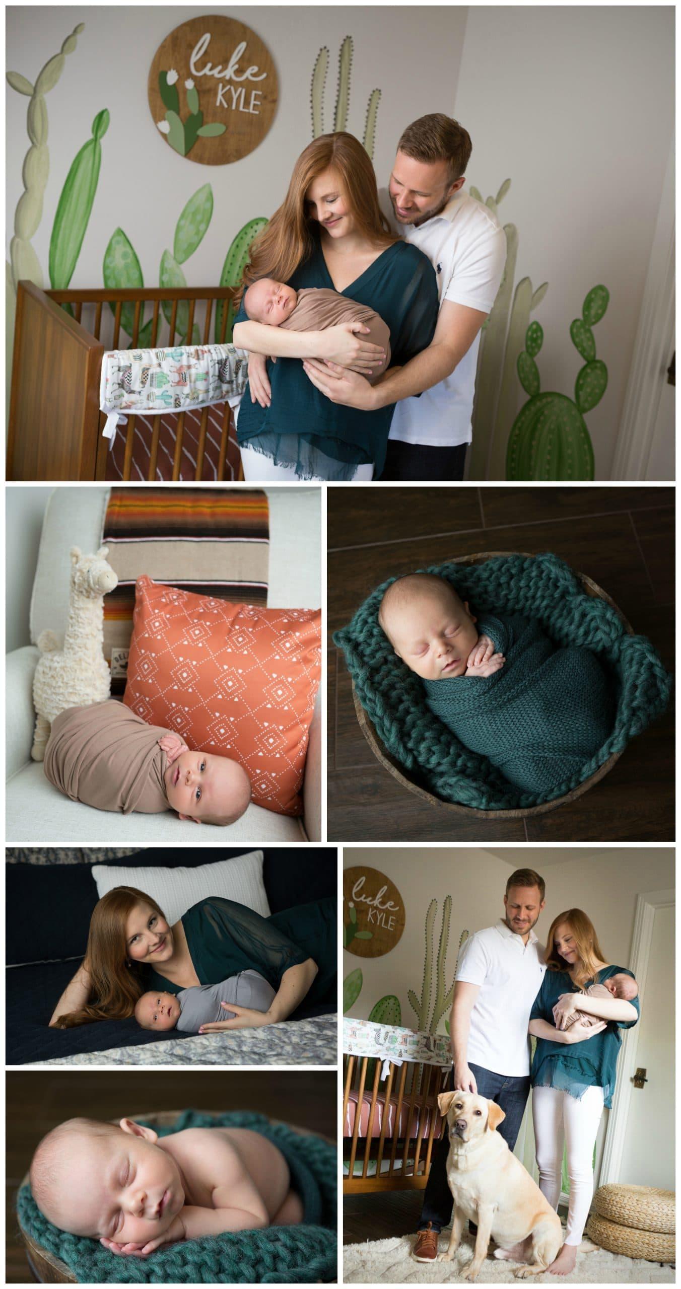 newborn boy San Antonio lifestyle photographer